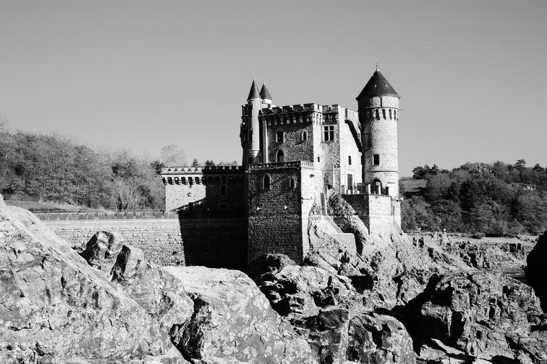 Château de La Roche (N/B)
