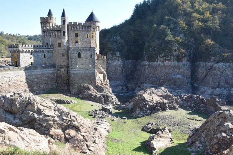 Le château de La Roche et la Loire