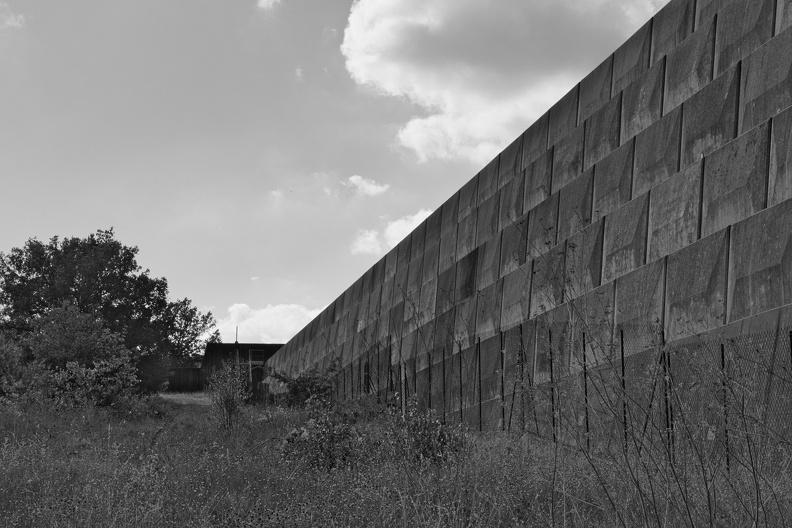 Barrage de Conqueyrac (N/B)
