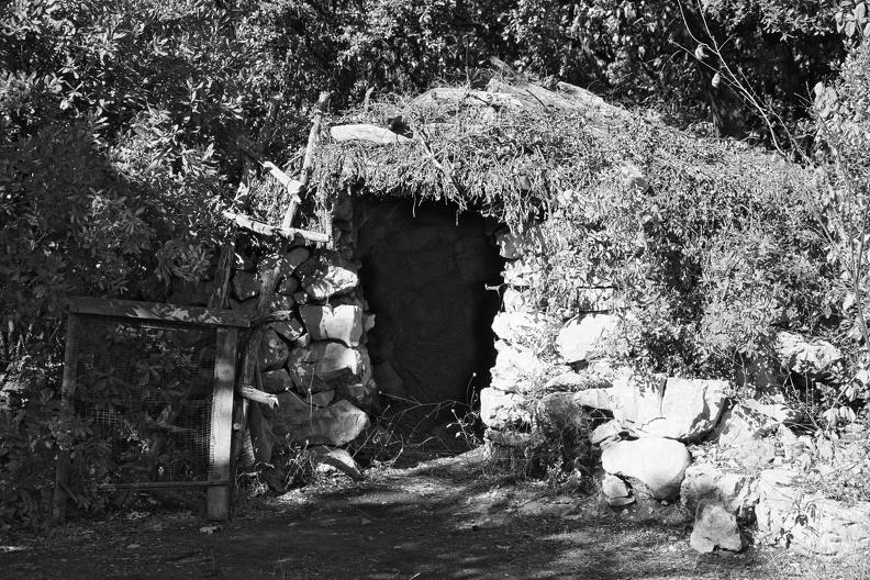 Le sentier des Charbonnières (N/B)