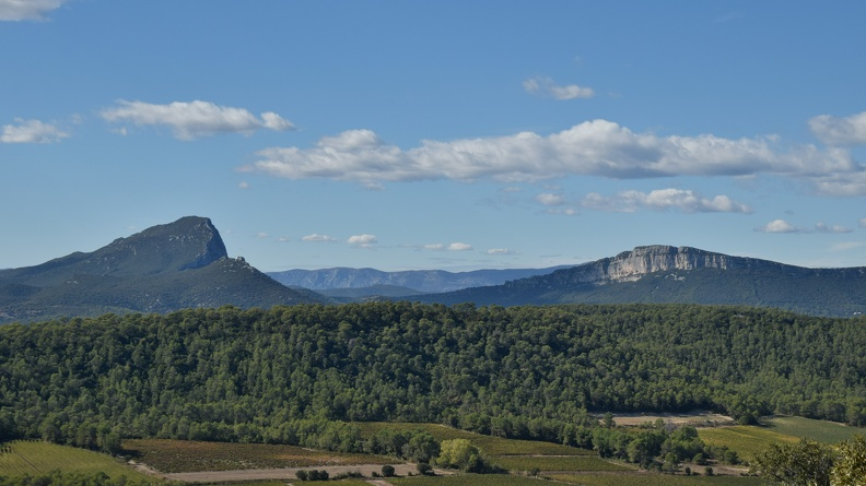 Pic Saint Loup et Hortus (HDR)