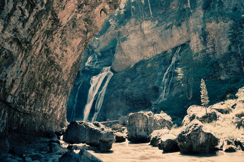 Cascade dans le Parc National d'Ordesa