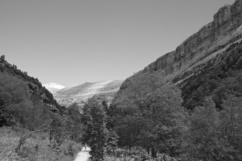 Parc National d'Ordesa (N/B)