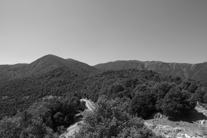 Parc Natural del Montseny (N/B)