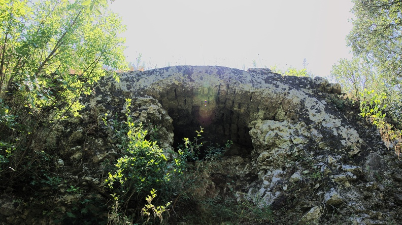 Pont de la Combe Pradier - aqueduc romain de Nîmes
