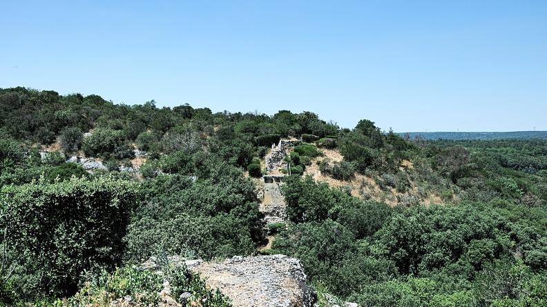 Pont de la Combe Roussière - aqueduc romain de Nîmes