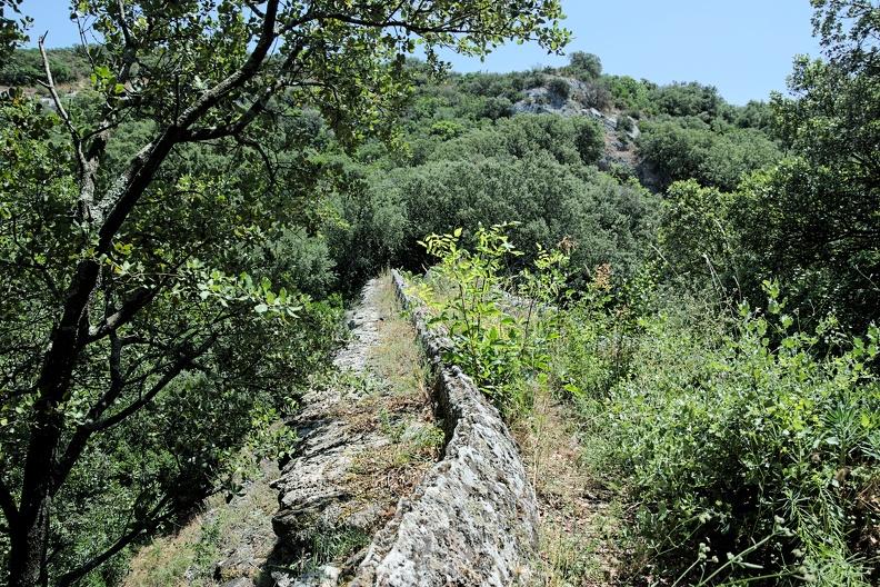 Pont de la Sartanette - aqueduc romain de Nîmes