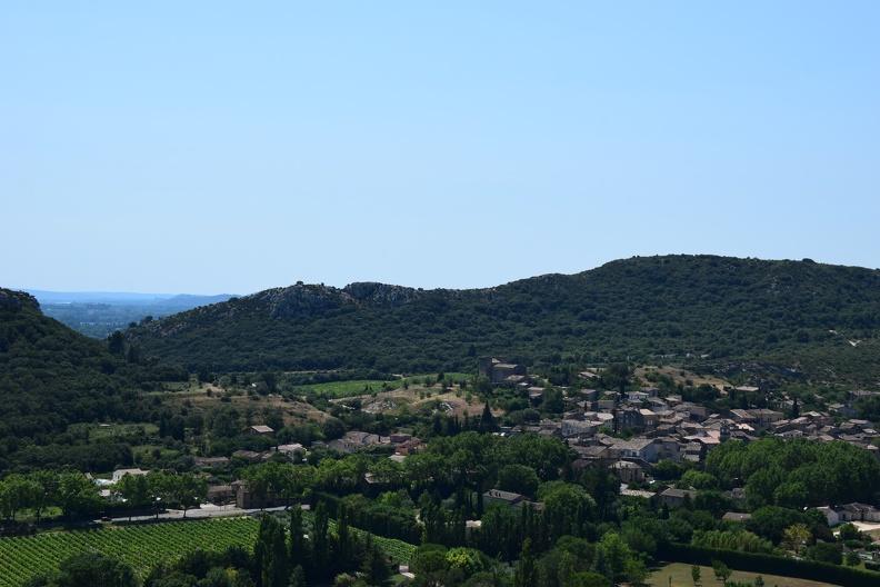 Vue sur Saint-Bonnet-du-Gard