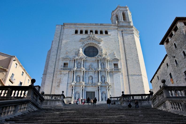La cathédrale Sainte-Marie (Gérone)