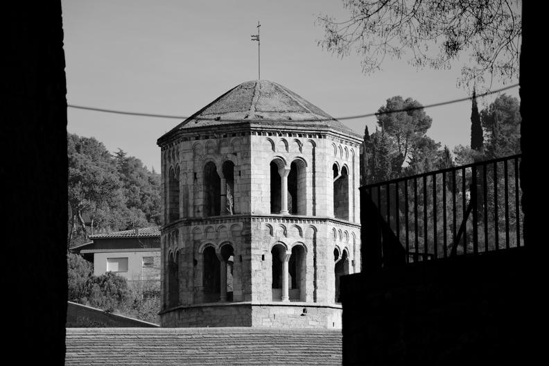 Ancien monastère de Sant Pere de Galligants (monochrome)