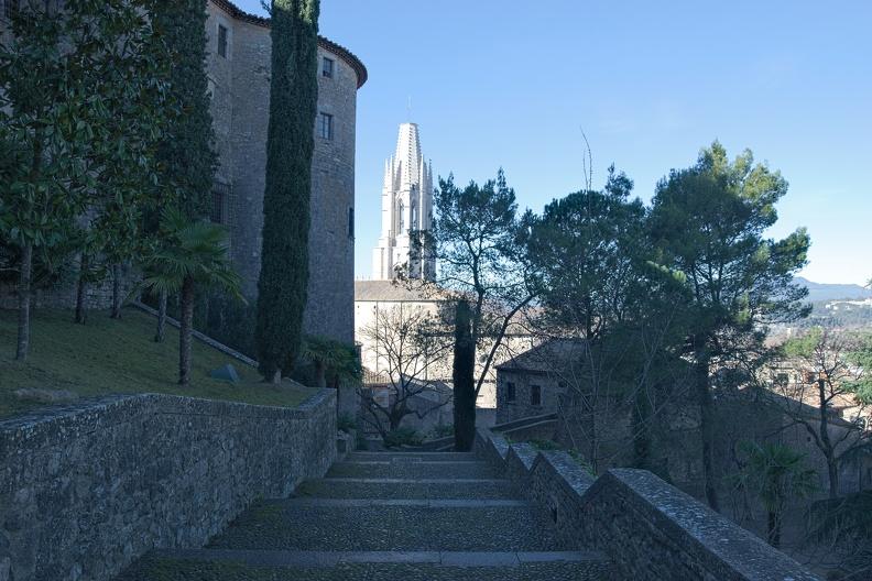 Autour des Jardins de La Francesa à Girone