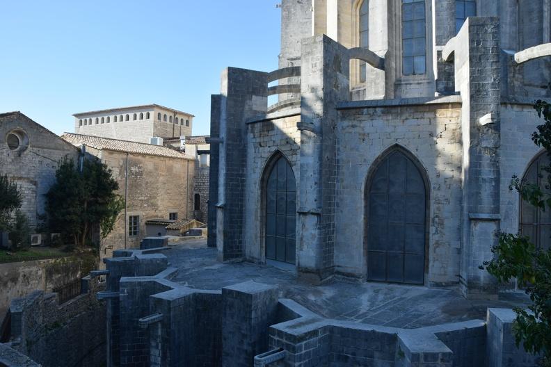 Cathédrale Sainte-Marie à Gérone (HDR)