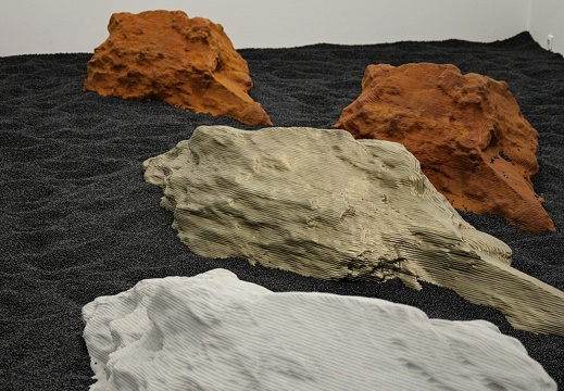 EXPO CRASH TEST (« Burial » - Alice Channer)