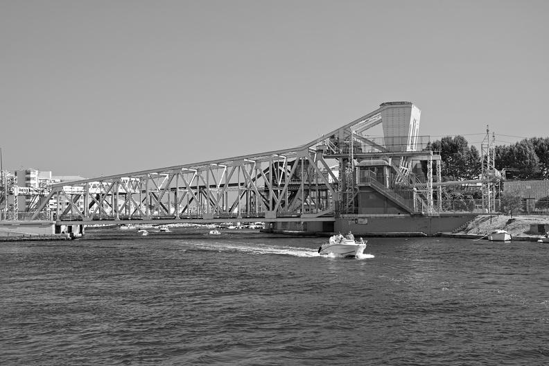 Le pont Maréchal Foch (Sète)