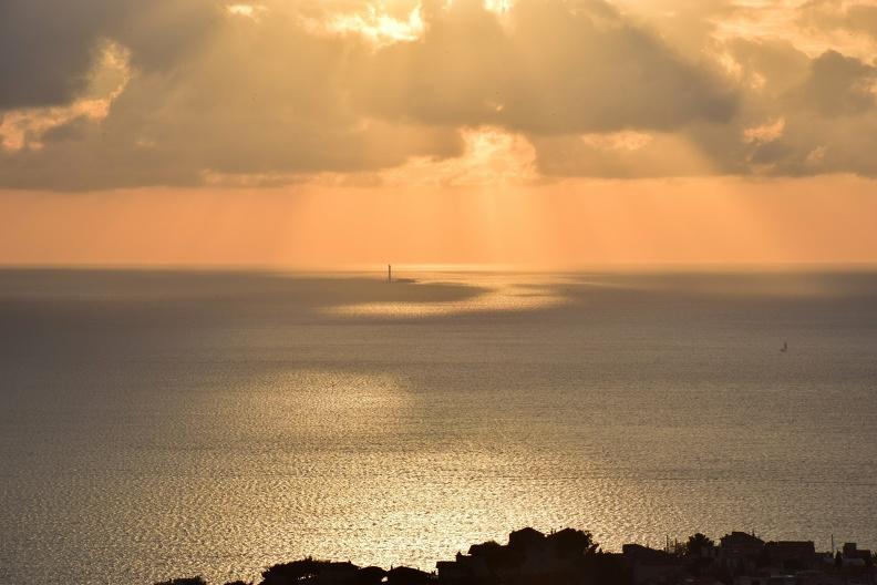 Soleil couchant à Marseille