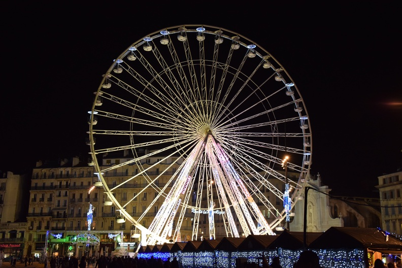 Grande roue à Marseille