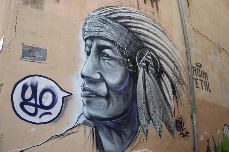 Un indien dans la ville