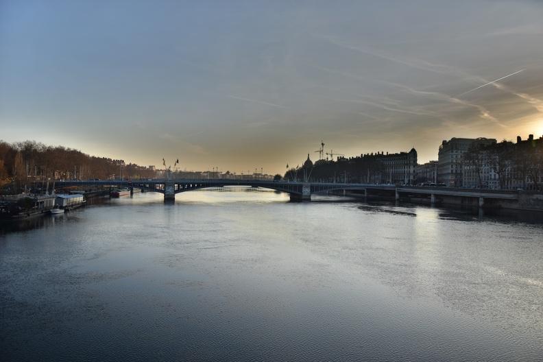 Le Rhône à Lyon ( HDR version )