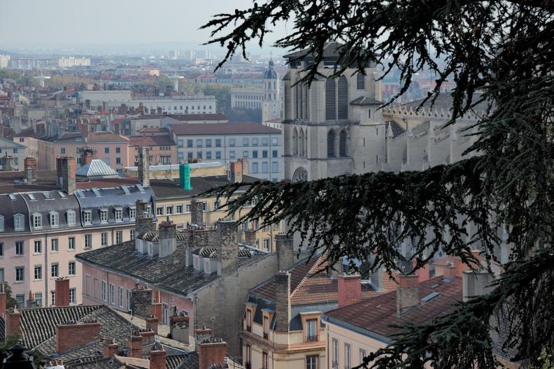 Lyon et sa cathédrale Saint Jean