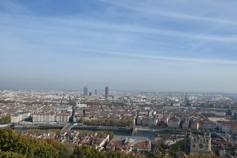 Lyon depuis Fourvière (HDR)