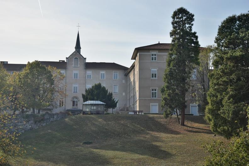 Hôpital de Fourvière à Lyon (HDR)