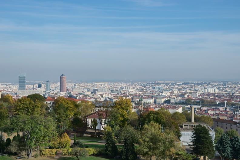 Lyon depuis les hauteurs de son théâtre antique