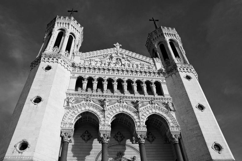 Notre-Dame de Fourvière (N/B)