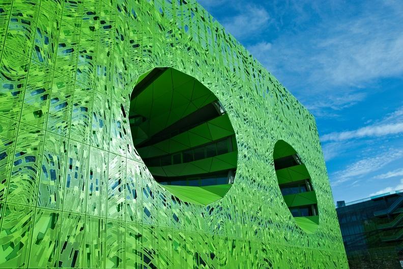 Le Cube Vert - siège d'Euronews