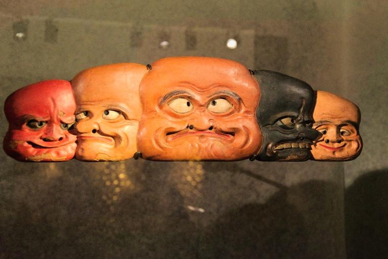 Exposition Yokainoshima, esprits du Japon au musée des Confluences