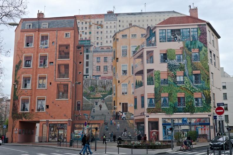 Mur peint des Canuts