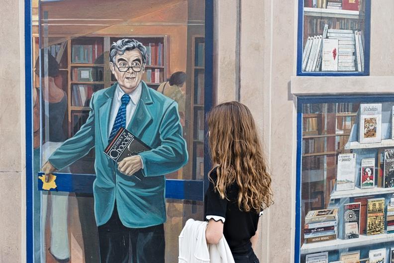 La fresque des Lyonnais (Bernard Pivot)