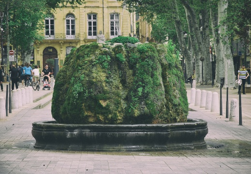 Fontaine moussue (Aix-en-Provence)
