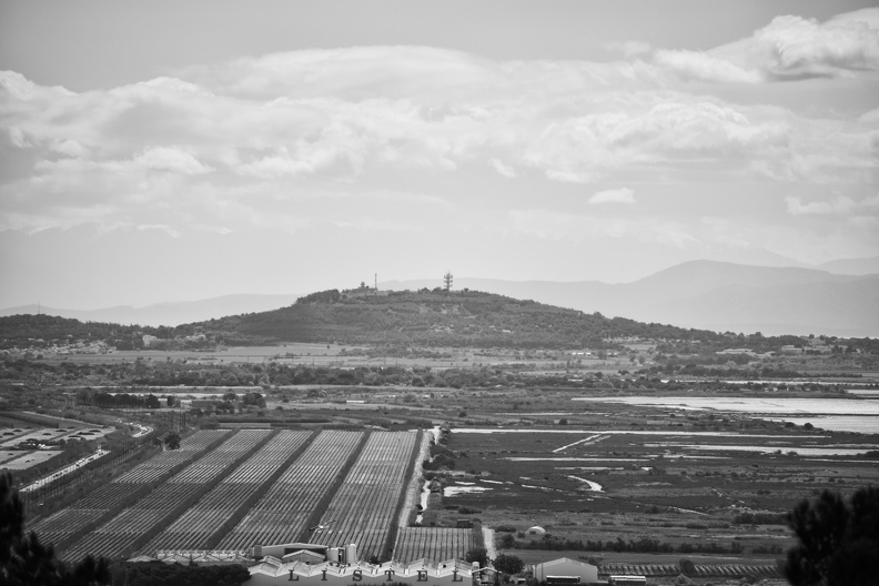 Le Mont Saint-Loup (Agde) depuis Sète