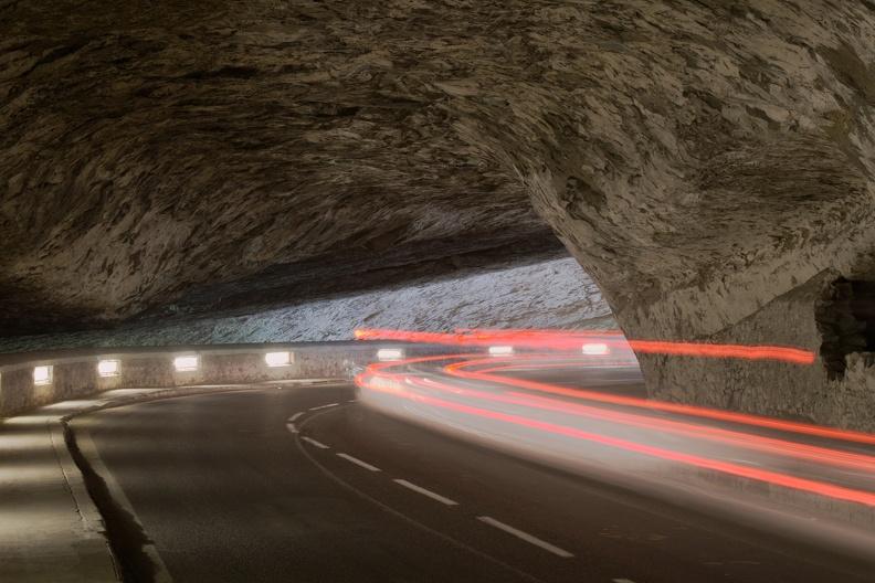 Grotte du Mas-d'Azil :  pause longue entrée nord