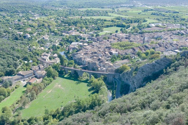 Saint-Hippolyte-du-Fort (vue du Cengle)