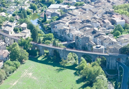 Saint-Hippolyte-du-Fort (vue du Cengle)