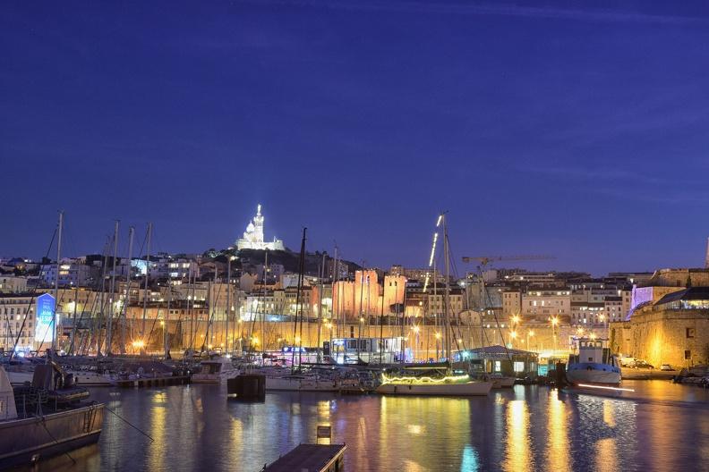 Port de plaisance de Marseille