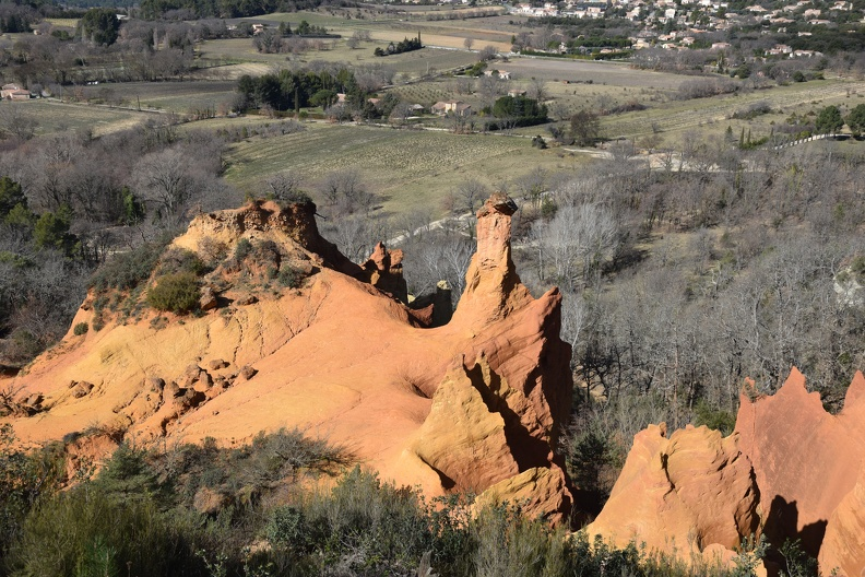 Le Colorado Provençal (ocres de Rustrel)