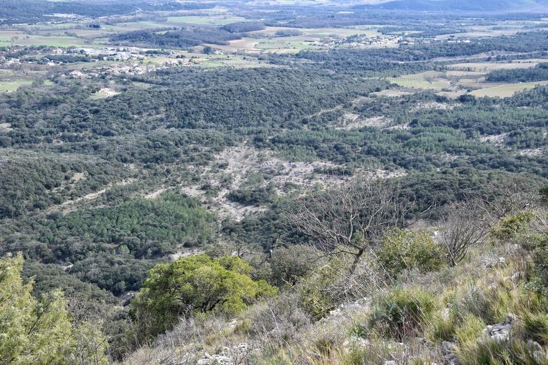 Marnes au pied du massif de Coutach