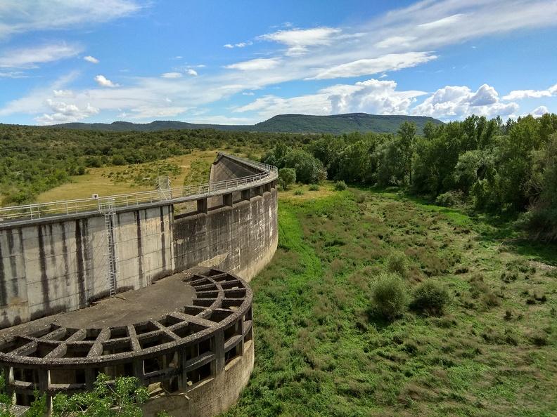 Barrage de Ceyrac (fin de printemps 2020)