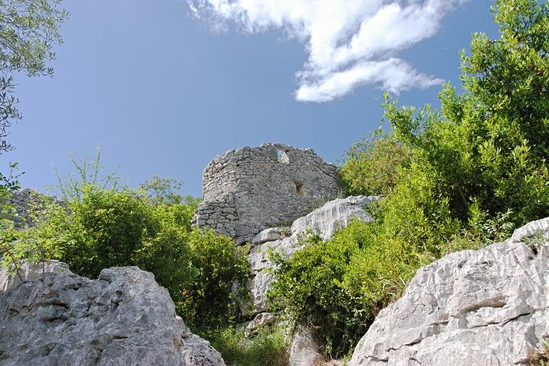 Ruine dans la Mer des Rochers