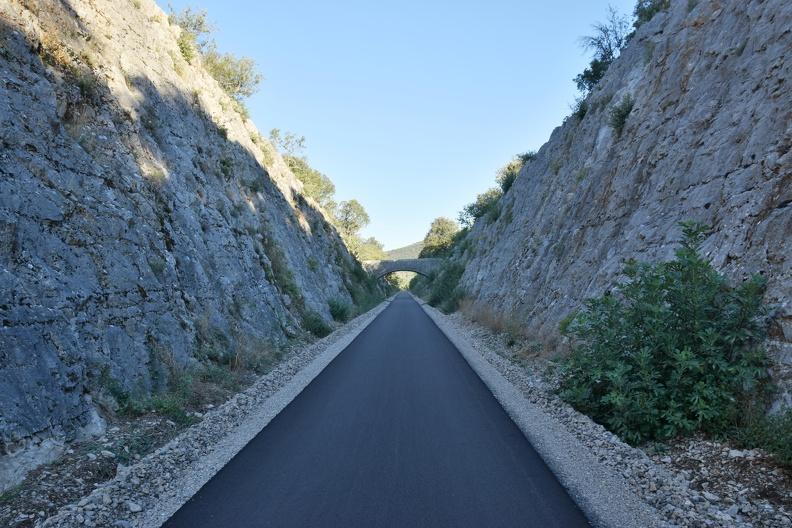 Voie verte entre Sauve et Saint-Hippolyte-du-Fort