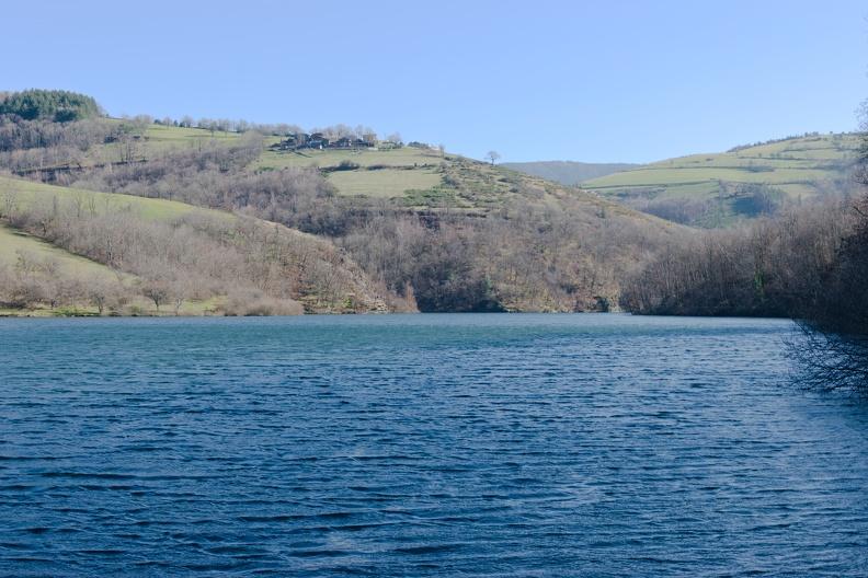 Retenue du barrage de Soulages