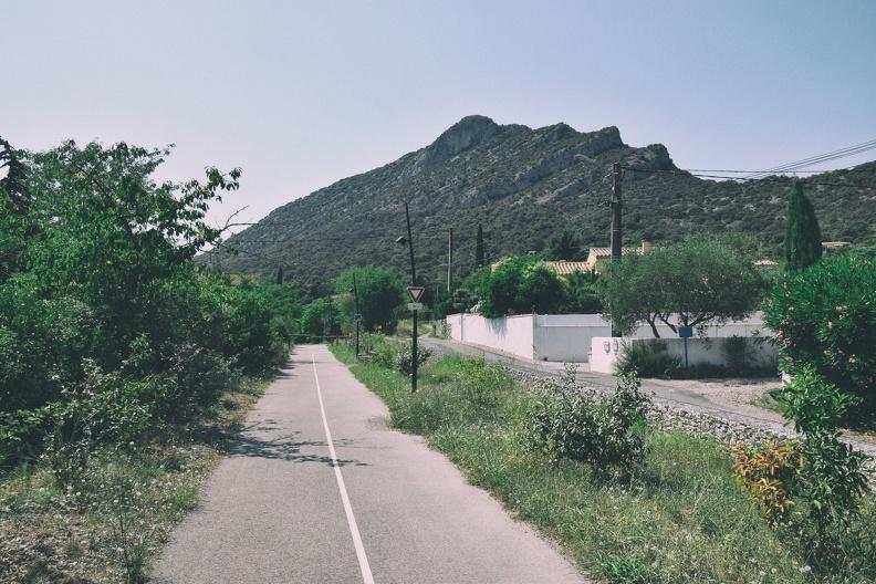 Le Pic de Midi depuis la voie verte