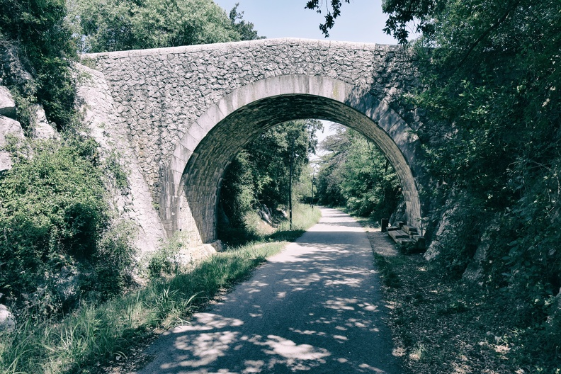 Pont sur l'axe Ganges - Saint-Hippolyte-du-Fort