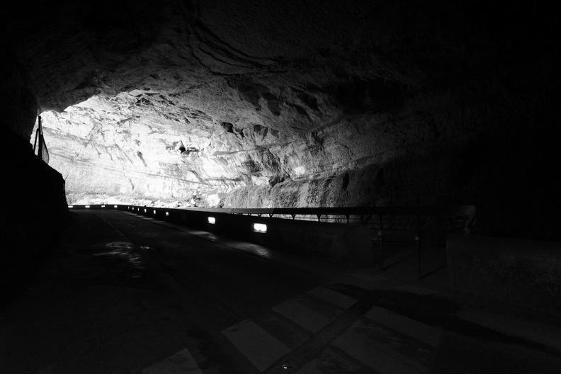 Grotte du Mas-d'Azil (N/B)